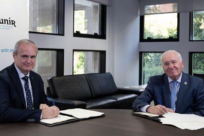 La alianza entre ISFOS Y UNIR