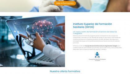 Nueva web de ISFOS